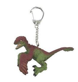 Schleich Utahraptor mini key chain