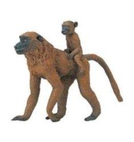 Safari Ltd Baboon Female with Baby