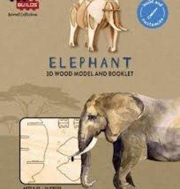 Incredibuilds IncrediBuilds Animal Collection: Elephant