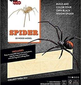 Incredibuilds Spider 3D Wood Model