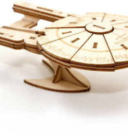 Incredibuilds U.S.S. Enterprise Book and 3D Wood Model