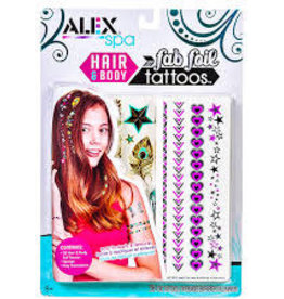Alex Brands Hair & Body Fab Foil Tattoos