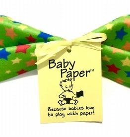 Baby Paper Baby Paper Green Stars