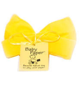 Baby Paper Baby Paper Solid Yellow
