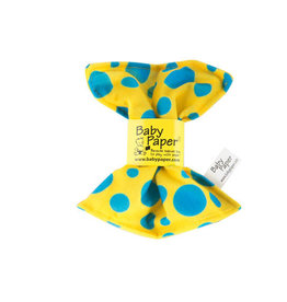 Baby Paper Baby Paper Yellow Blue Dot