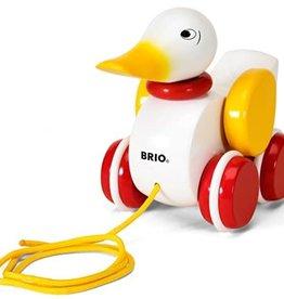 Brio Duck Pull Along