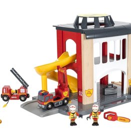 Brio Rescue Fire Station (with extra content)
