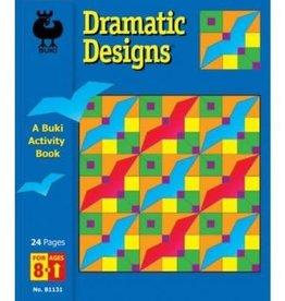 Buki Buki Dramatic Designs Activity Book