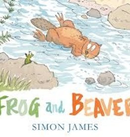 Candlewick Press frog and beaver
