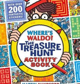 Candlewick Press Where's Waldo The Treasure Hunt book