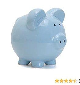Child to Cherish Blue Piggy Bank