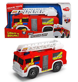 Dickies Toys Fire Rescue Unit Light & Sound