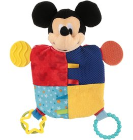 Disney MICKEY MOUSE Flat Blanky Teether