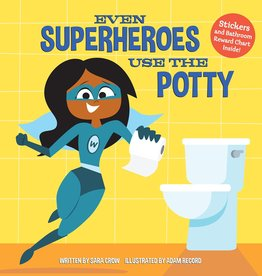 DoubleDay Even Superheros Use the Potty by Sara Crow