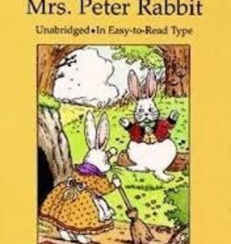 Dover Publications Mrs. Peter Rabbit by Thornton W. Burgess