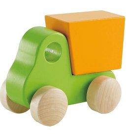 Hape Little Dump Truck, Green