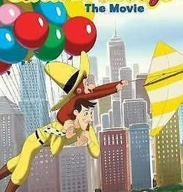 HMH Books Curious George The Movie Junior Novel by Kathleen Zoehfeld