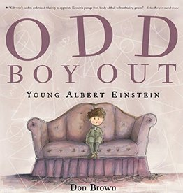 HMH Books Odd Boy Out Young Albert Einstein by Don Brown