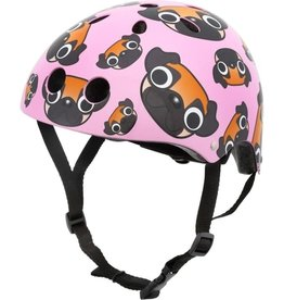 Hornit Mini Hornit Lids - Helmet Pink with Pugs Small