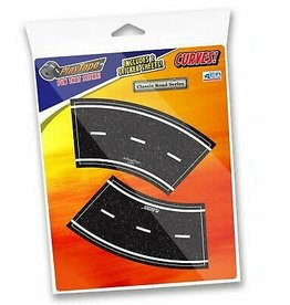 In Road Toys 2In Road Curves w/Clip Strip
