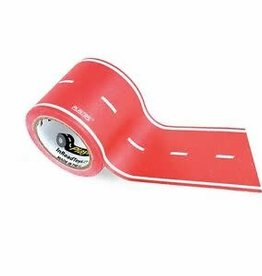 In Road Toys Play Tape Red