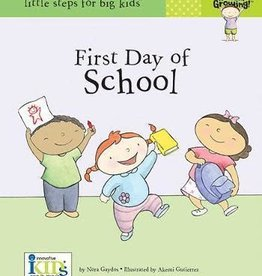 Innovative Kids NOW I'M GROWING! BOOKS: FIRST DAY OF SCHOOL