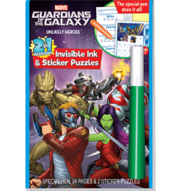 Lee Publications Guardians of the Galaxy Invisible Ink & Sticker Puzzle