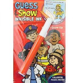 Lee Publications Invisible Ink Guess and Show When I Grow Up
