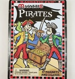 Lee Publications PIRATES MAGNETIC TIN