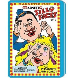 Lee Publications SILLY FACES MAGNETIC TIN