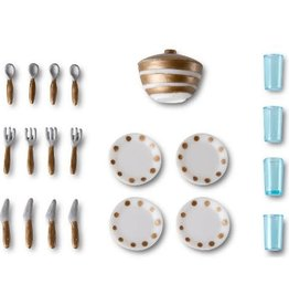 Lundby Smaland Dish Set