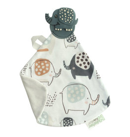 Malarkey Kids Earnest Elephant Munch It Blanket