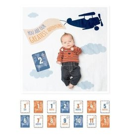 Mary Meyer FIRST YEAR BLANKET/CARDS-GREATEST ADVENTURES