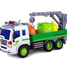 Maxx Action Recycle Container Truck With Crane