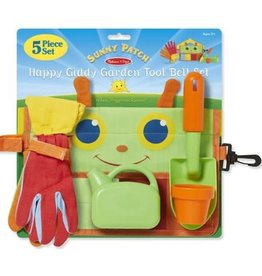 Melissa & Doug Giddy Garden Tool Belt Set