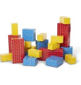Melissa & Doug Jumbo Cardboard Blocks 24 pc
