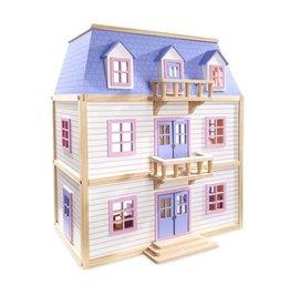 Melissa & Doug Multi-Level Dollhouse