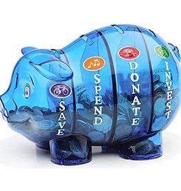 Money Savvy Money Savvy Pig Bank Blue