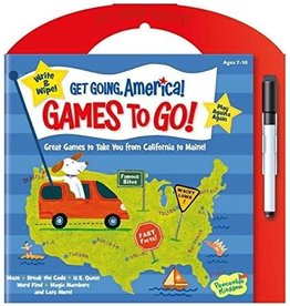 Peaceable Kingdom GET GOING AMERICA! GAMES TO GO!