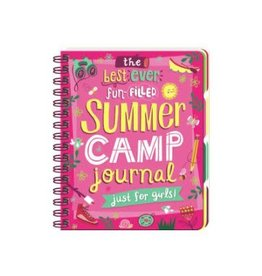 Peaceable Kingdom SUMMER CAMP JOURNAL JUST FOR GIRLS