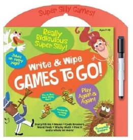 Peaceable Kingdom write and wipe games to go