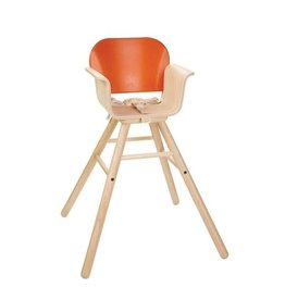 Plan Toys HIGH CHAIR - ORANGE