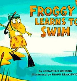 Puffin Books Froggy Learns to Swim by Johnathan London