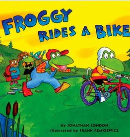 Puffin Books Froggy Rides a Bike book