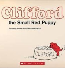 Scholastic clifford the small red puppy