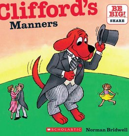 Scholastic CLIFFORD'S MANNERS (8X8)  (Sep)