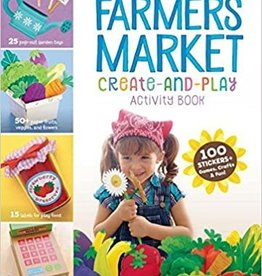 Story Publishing Farmers Market Create-and-Play Activity Book