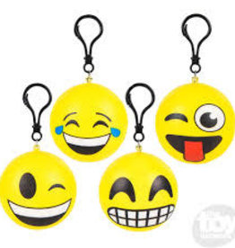 """The Toy Network 2.75"""" EMOTICON SQUISH CLIP ON"""
