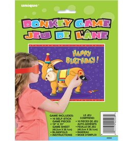 Unique Pin the Tail On the Donkey Game