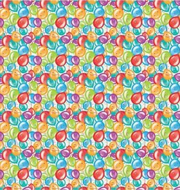 Unique Colorful Balloons Wrapping Paper